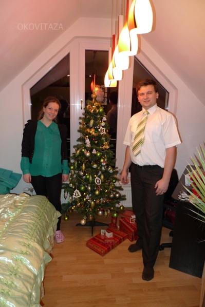 Vianočný stromček u Balogovcov