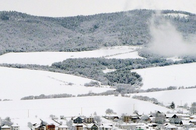 Obec Vitaz pod snehom 2015 P1310578